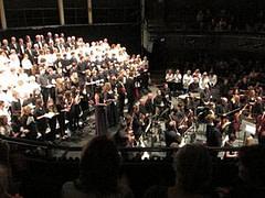 Singing Teacher in an oratorio